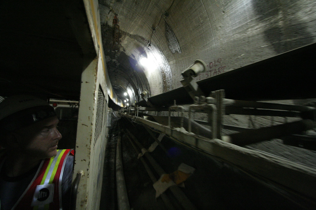LIRR tunnel in progress