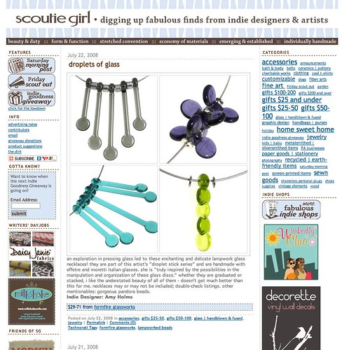 Scoutie Girl blog feature