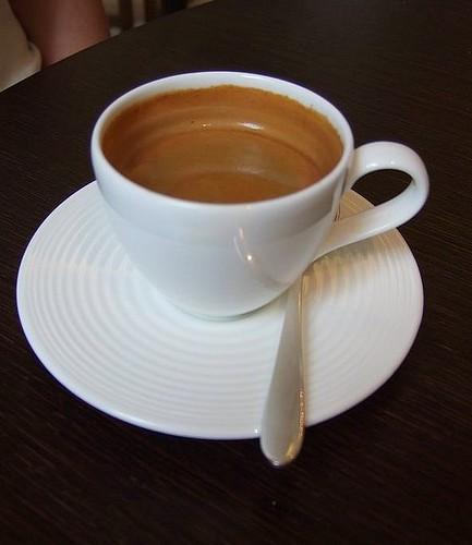 Maze Grill double espresso