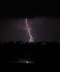 Lightning............ 4am Laurence Harbor New Jersey (Scott Hudson *) Tags: york usa love nature canon photogra