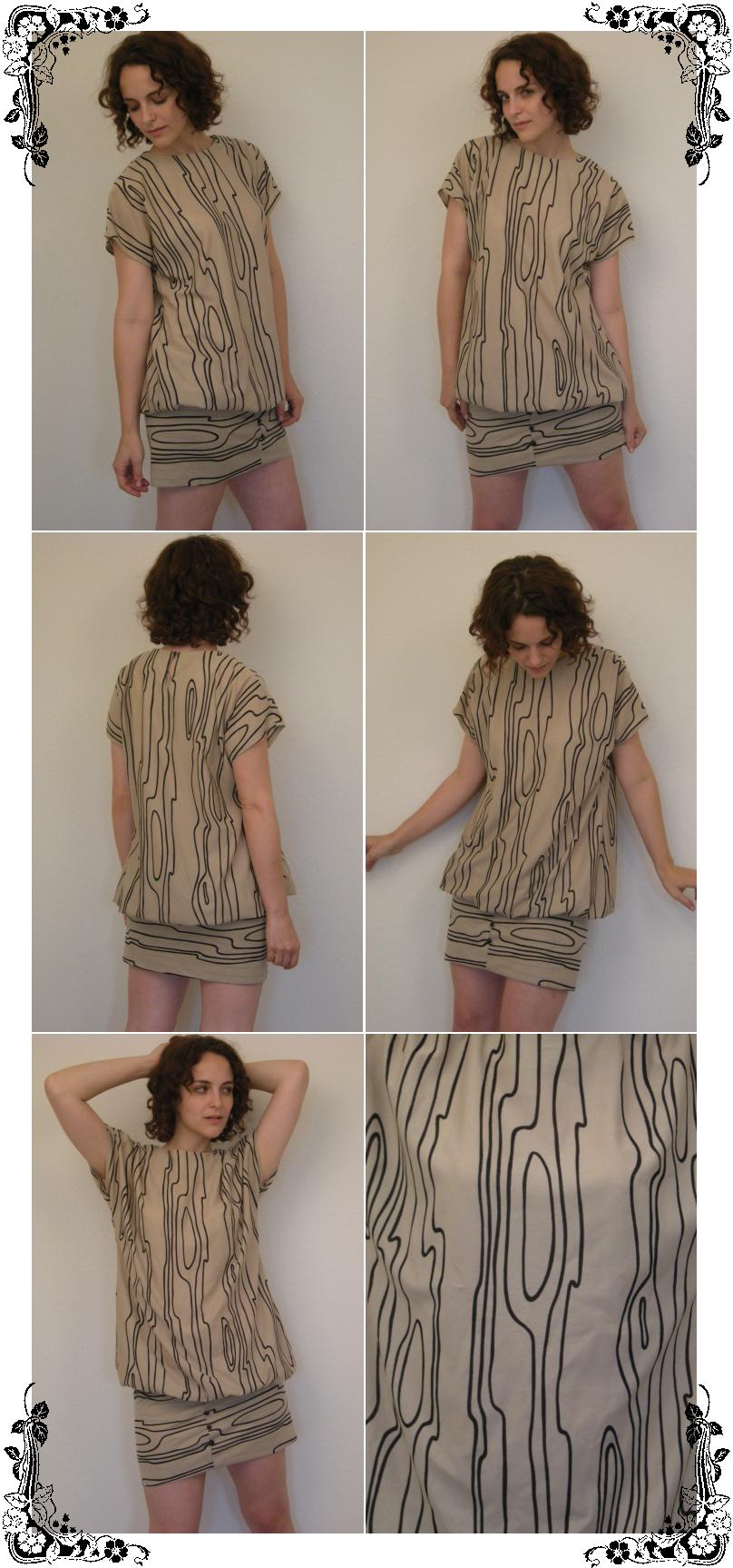 Vintage 80s Avant Garde Drop Waist Slouch Fit Dress M - eBay (item 200242845018 end time Aug-05-08 18:05:25 PDT)