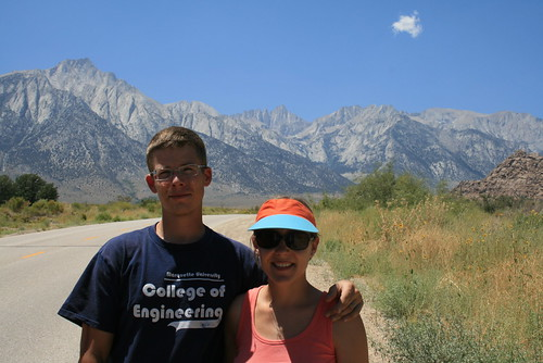 Romy & Jenn Under Mt. Whitney