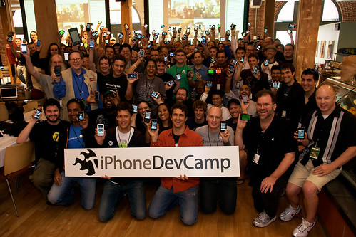 iPhoneDevCamp2 Group Photo