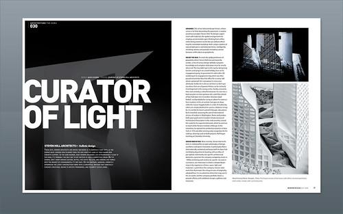 Flickriver: Photoset \'Modern Design Magazine | Spread design ...