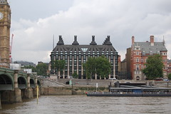 Portcullis House from across River Thames (UK Parliament) Tags: uk london westminster unitedkingdom politics housesofparliament parliament commons portcullishouse mp lords peers houseoflords houseofcommons mps ukparliament