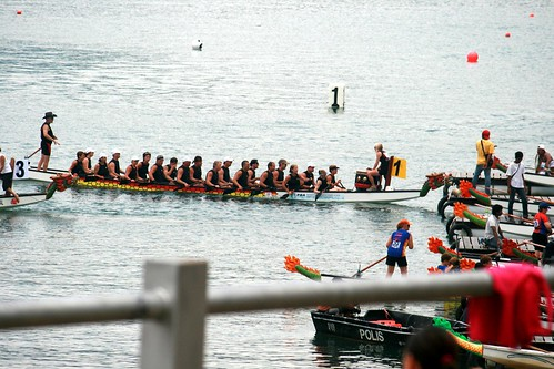 Penang Dragon Boat Festival (2008) by you.