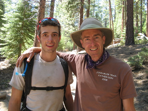 JMT hiking duo