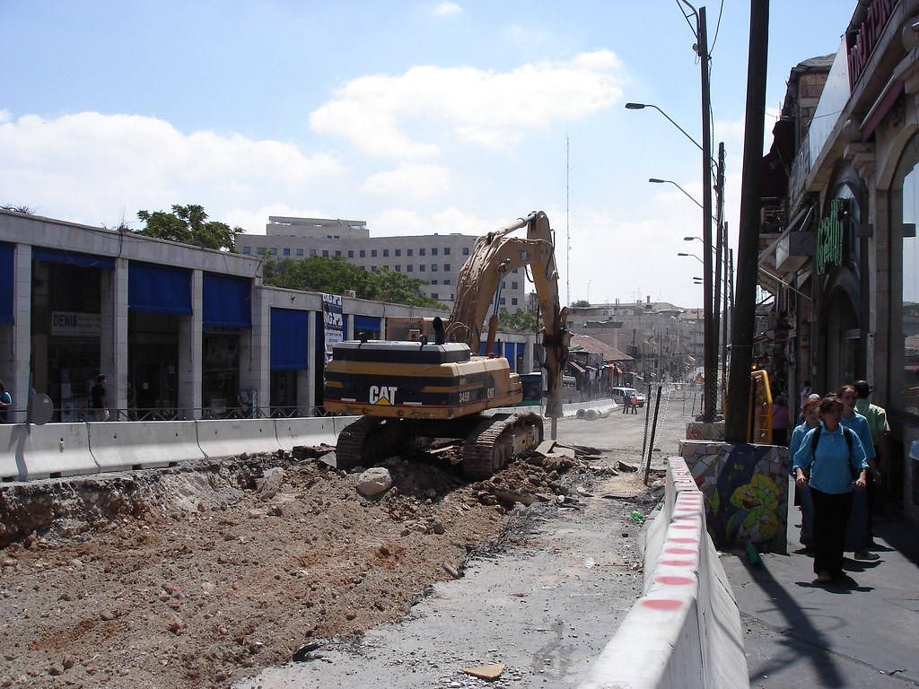 Digging up Jaffa Street 2