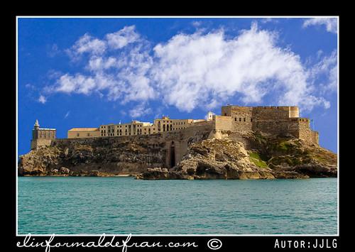 Melilla - Primer recintoo visto desde el mar