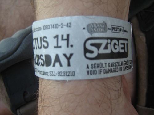 Augusztus 14, Sziget 2008