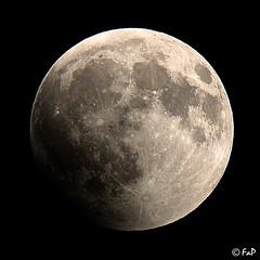 Eclisse di luna / Lunar eclipse