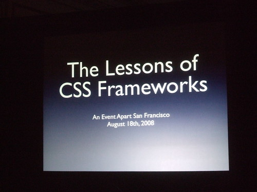 The Lessons of CSS Frameworks