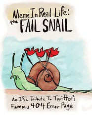 The Fail Snail proposal (docpop) Tags: whale mirl twitter memeinreallife failsnail