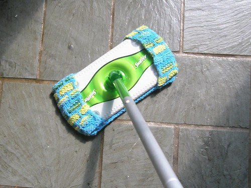 Swiffer Cover-back view