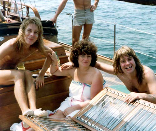 Randy, Sharon & Ozzy