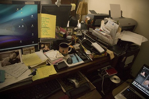 crap on my desk