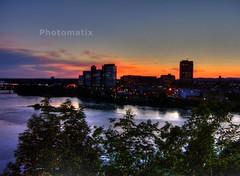 River at sunset (Aurora Moon) Tags: quebec ottawa hull ottawariver