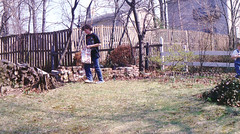 1989ish - Clint - Easter egg hunting - Grandma\'s house - 0098