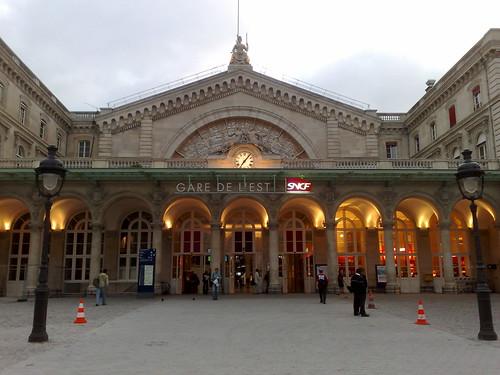 The Gare de l'Est