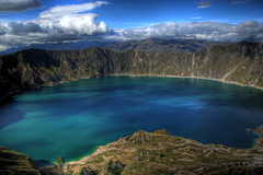 Lake Quilotoa (Kevin Labianco) Tags: lake mountains hot america photography volcano ecuador south caldera elite springs minerals andes ash volcanic hdr quilotoa pyroclastic fumaroles elitephotography