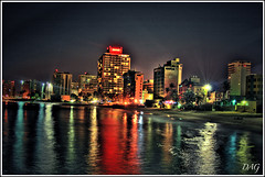 Condado view (Dag's) Tags: colors night buildings places hdr colourartaward