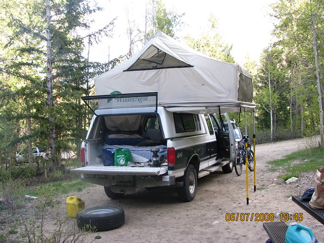 camping camp ford tent rv powerstroke widernest