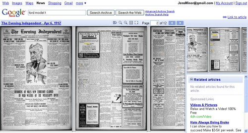 Google News Archive Scan