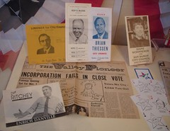 Museum of the San Ramon Valley political exhibit