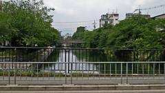 River (mclain5798) Tags: city bridge urban japan river kyoto    canonpowershotsd950is