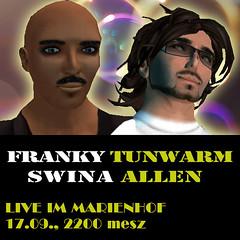 Franky Tunwarm & Swina Allen live in Concert