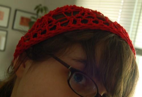 Button up Crochet Headwrap