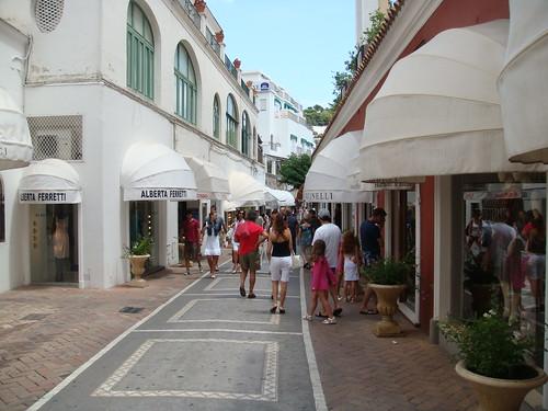 Calles de Capri