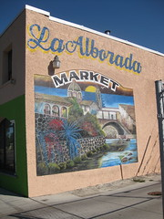 La Alborada Market Mural by Unknown