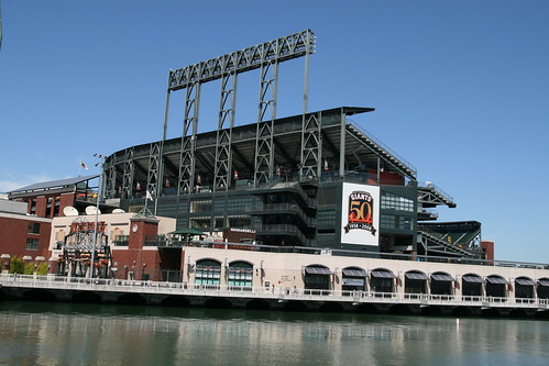 AT & T Park by Bernt Rostad.