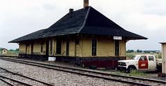 Minneapolis, St. Paul & Sault Ste. Marie Railway- Soo Line, Minnesota, Genola (Gone) (13,334) (EC Leatherberry) Tags: railroad minnesota gone depot sooline morrisoncounty minneapolisstpaulsaultstemariery