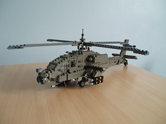 AH-64 Apache (6) (Mad physicist) Tags: army apache lego military helicopter 136 usarmy ah64