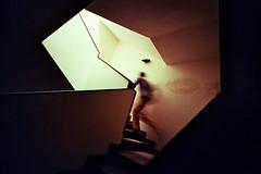 , (Benedetta Falugi) Tags: colour goupthestairs climbs ruuuuun scale blur pellicola film bessar3 15mm analogic benedettafalugi behind wwwbenedettafalugicom believeinfilm analogphotography