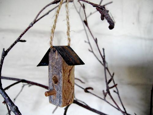 wee birdhouse