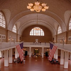 New York - Ellis Island Great Hall by David Paul Ohmer, on Flickr
