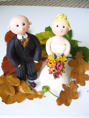 wedding ideas for kids autumn themed fimo ooak unique personalised handcrafted 27815
