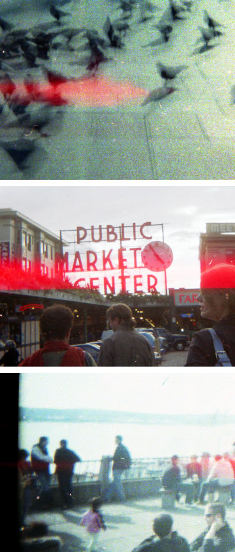 Downtown Seattle via Holga