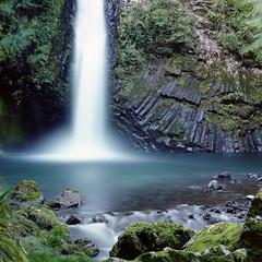 waterfall (F_blue) Tags: kodak hasselblad izu 500cm portra160nc 伊豆 瀧 planart c8028 fblue2008