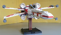 Star Wars Lego 6212 X-Wing Fighter 04 (KatanaZ) Tags: toys starwars lego 2006 xwingfighter