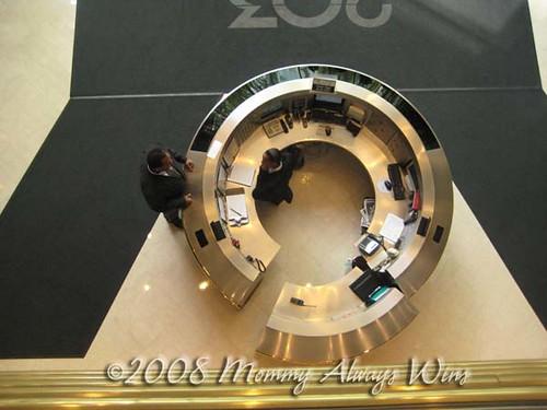 circle desk