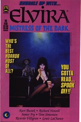 Elvira, Mistress of the Dark #10 cover