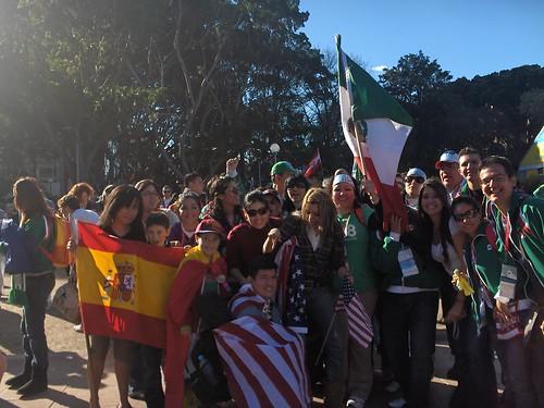 Mis amigos mexicanos y unos cuantos acoples