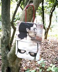 reggiseno (franzisk_it) Tags: paper newspaper handmade creazioni packaging package carta buste creations giornali artigianale confezioni quotidiani franzisk