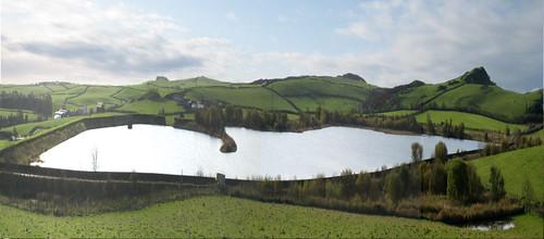 Munnoch Reservoir panorama