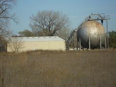 Morton sphere (Ruin Raider) Tags: old minnesota metal ruins steel wwii gopher ordinance umorepark gopherordinanceworks