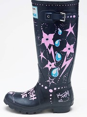 KT Tunstall's signed wellie for WaterAid auction